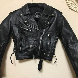 Leather king xxs leather jacket
